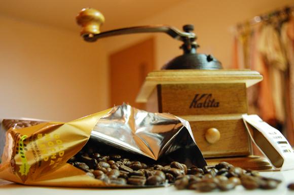 コーヒ豆&ミル2